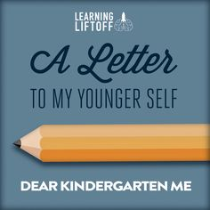 Seniors will get great advice, insight, and perspective by reading this letter from a former student to her younger self. Senior Year Of High School, High School Seniors, 3rd Grade Activities, Online High School, Kindergarten Learning, Creative Writing Prompts, Student Success, School Photos, School Counseling