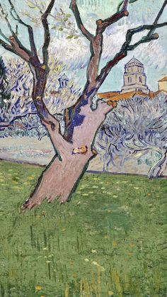 Vincent van Gogh🌻 Orchards in blossom, view of Van Gogh Drawings, Van Gogh Paintings, Van Gogh Art, Art Van, Vincent Van Gogh, Colors And Emotions, Dutch Painters, Equine Art, Old Art