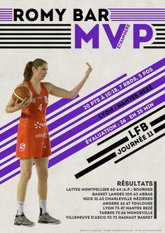 Romy Bar - MVP Etrangère - LFB Journée #11
