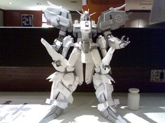 MSA-0011 Ext Ex-S Gundam Ver.4 Free Papercraft Download