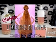 Haz tu shampoo de Quinoa casero PARA CRECIMIENTO DEL CABELLO COMO LOCO! - YouTube