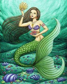 1000 images about mermaids on pinterest vintage mermaid