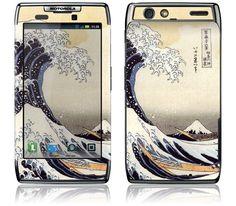 The Great Wave by Katsushika Hokusai for the Motorola Droid RAZR / RAZR MAXX