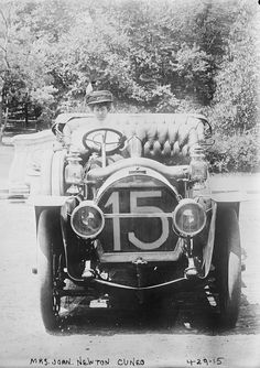 Did you know there were some early race car drives?