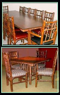 Adirondack, Rustic & Hickory Furniture, Birch Mirrors, Large selection of quality, hand made furniture