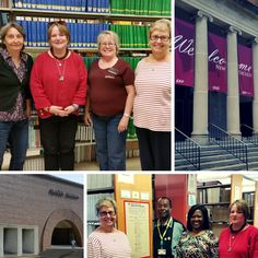 GPO's Cindy Etkin visits Federal depository libraries in Kentucky that are helping keep America informed. Top: at Eastern Kentucky University's John Grant Crabbe Library with Depository Coordinator Linda Sizemore, Library Associate Carol Thomas, and Regional Depository Librarian Sandra McAninch. This Eastern Kentucky University Libraries - EKU branch has been part of the Federal Depository Library Program since 1966. Bottom: at Kentucky State University's Paul G. Blazer Library with…