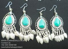 kuchi earrings afghan kuchi earrings tribal earrings