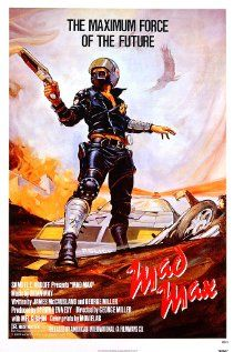"""Mad Max""  In a dystopic future Australia, a vicious biker gang murder a cop's family and make his fight with them personal."