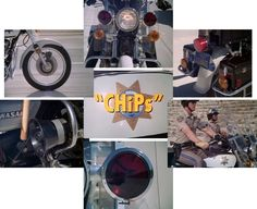 "CHiPS NBC 09/77-07/83 CHiPS follows the lives of two California High Patrol officers, Frank ""Ponch"" Poncherello and Jon Baker portrayed by Erik Estrada and Larry Wilcox. The show was a mix of melodrama and light humour. Ponch and Baker never drew their weapons during the run of the show but each episode did have at least one chase scene on LA's infamous highways."