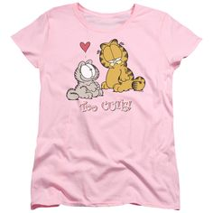 Garfield/Too Cute-Pink