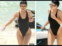 Kylie Janner Show her curvy figure in Swimsuit 2016