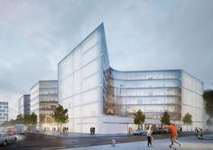 Catwalks und Neighbourhoods - Zalando-Hauptquartier von HENN in Berlin