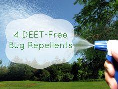4 DEET-Free Bug Repellents