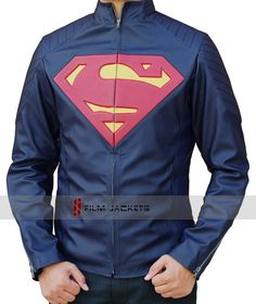 man of steel leather jacket