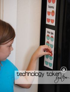 Check out my free printable Technology Token system for setting technology limits for kids. Help kids balance technology and active play time. Reward System For Kids, Kids Rewards, Token System, Kids And Parenting, Parenting Hacks, Screen Time For Kids, Time Kids, Charts For Kids, Summer Kids