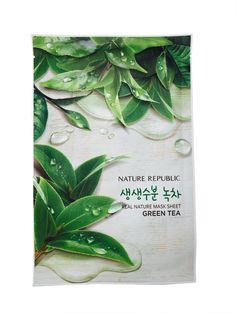Nature Republic Green Tea Real Nature Mask