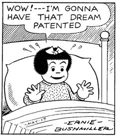 loved Nancy and Sluggo in the comic strips every Sunday.