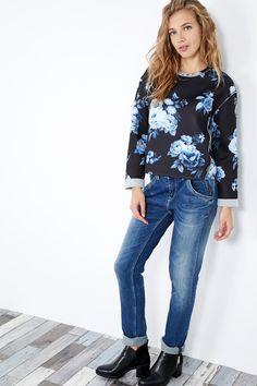 Venda Pepe Jeans / 29887 / Mulher / Camisolas, sweats e casacos de malha / Sweat florida Preto