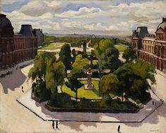 Albert Marquet - Carrousel lieu à Paris (1910)