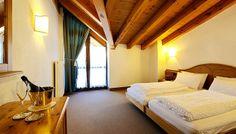 Snyggt dubbelrum Hotel Montana STS Alpresor