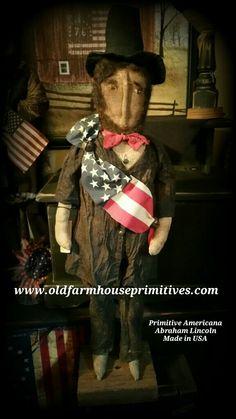 Primitive Americana Abraham Lincoln (Made IN USA)