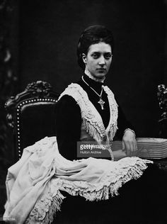 Princess Alexandra of Denmark (1844 - 1925), wife of Edward Prince of Wales (later King Edward VII) from 1863.
