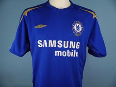 a759daf43 Authentic Chelsea 2005-06 Home Shirt Umbro Samsung Mobiel Extra Large  Rugby