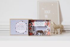 Live in the sunshine message box by PamelaLoops on Etsy