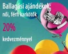 Aprilis 28-tól május 8-ig minden női karkötő, karlánc és férfi karkötő 20 % engedménnyel kapható. + Ajándék: díszdoboz az ékszerhez.