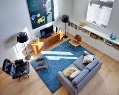 Wohnideen Für Wohnzimmer Mit Möbeln Im Mid Century Stil