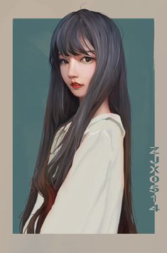 Beautiful Girl like Fashition Digital Art Girl, Digital Portrait, Portrait Art, Character Illustration, Illustration Art, Illustrations, Pretty Art, Cute Art, Digital Art Tutorial