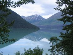 The reflection and beauty of Alaska