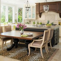 t shaped island white counter tops with an eat at bar this kitchens is beautiful interior. Black Bedroom Furniture Sets. Home Design Ideas