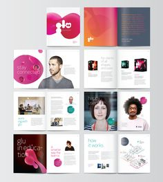 Glu 4D by Jon Dickins, via Behance / #layout