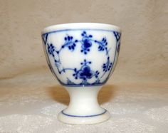 Royal Copenhagen Single egg Cup Blue and by SwedishGalsAntiques
