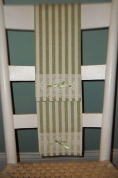 Tea Towel Vintage Linen Sage Green and Ivory by TheSpiralHill, $13.00
