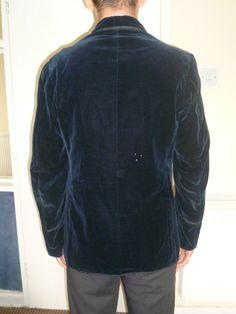 Edwardian Harrods Velvet Smoking Jacket