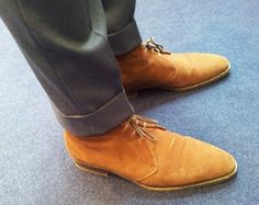 What I Am Wearing – The Italian Way – The Shoe Snob Blog Shoes Men, Men's Shoes, Shoe Boots, Dress Shoes, Fashion Shoes, Men's Fashion, Stylish Man, Boot Socks, Suede Shoes