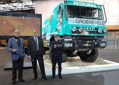 Iveco a Intermat 2012 con il Trakker Limited Edition Dakar