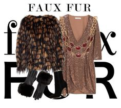 """Faux Fur Contest"" by jnavz ❤ liked on Polyvore featuring MANGO, Dries Van Noten, Ted Baker, ALDO and Talbots"