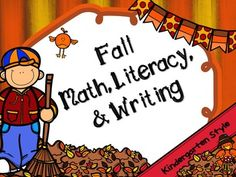 Your Kindergarten class will love this Fall Center Bundle. This Bundle includes Fall Math Centers, Fall Literacy Centers, and Fall Writing Activities. This is a bundled product and all items can be purchased separately from my store. Fall Literacy CentersFall Math CentersFall Writing Printables Literacy Centers Activities: Beginning Sound Write the Room- Students find each Fall squirrel card in the classroom.