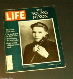 Life Magazine - November 6, 1970 - The Young Richard Nixon, Lem Barne... by George P. Hunt http://www.amazon.com/dp/B00R1XIAIS/ref=cm_sw_r_pi_dp_rWc6ub1V27G1C