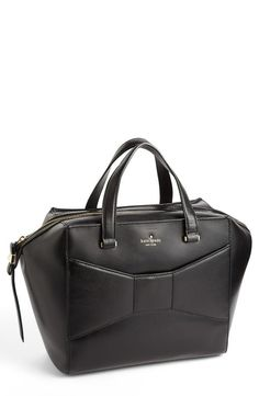Business bag with a bow