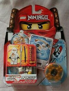 "1 X Lego système de recette Ninjago Rise of the /""Jay/'s Storm Fighter donn"