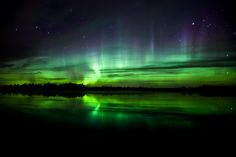 Canada Edmonton - Northern lights  I remember saw something like this with you from a website. Let's go and see the real thing :D