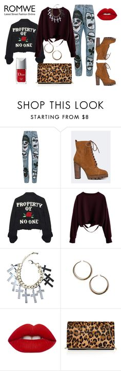 """""""Stray Cat Strut"""" by looking-for-a-place-to-happen on Polyvore featuring Faith Connexion, Report, High Heels Suicide, Rock 'N Rose, Lime Crime, Reiss, Christian Dior, meow, jealous and badass"""