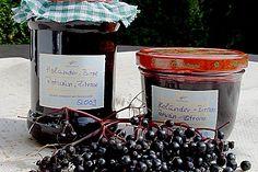 Holunder - Birnen - Marmelade (Rezept mit Bild) von julisan | Chefkoch.de