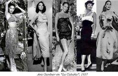 "Designers' DNA – Dior – Modeconnect.com Ava Gardner's dresses for the film ""The Little Hut"", 1957"
