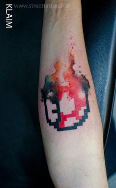 #Mario #nintendo #tattoo by klaim.