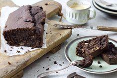 Pure chocolade bananenbrood - Chickslovefood